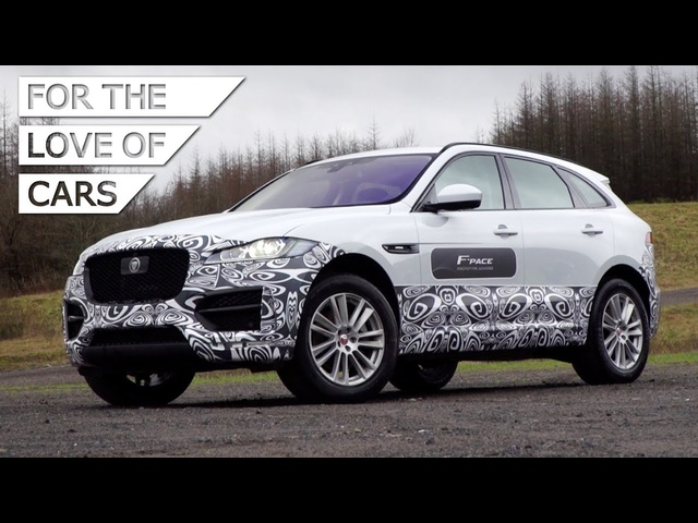 Jaguar F-Pace: Sideways In The Mud - Carfection