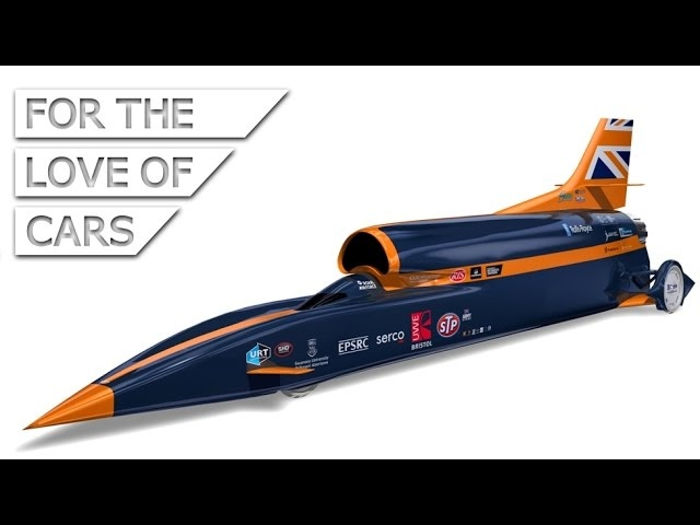 How to Drive at 1000 mph: Bloodhound SSC - Carfection
