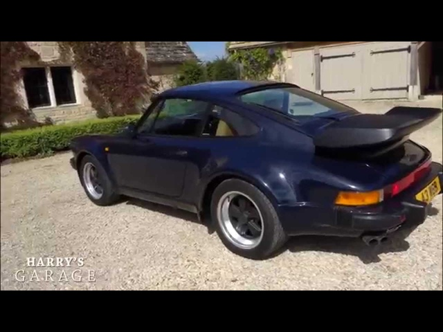 Porsche 911 turbo drive and review. The legendary '80s Porsche 930