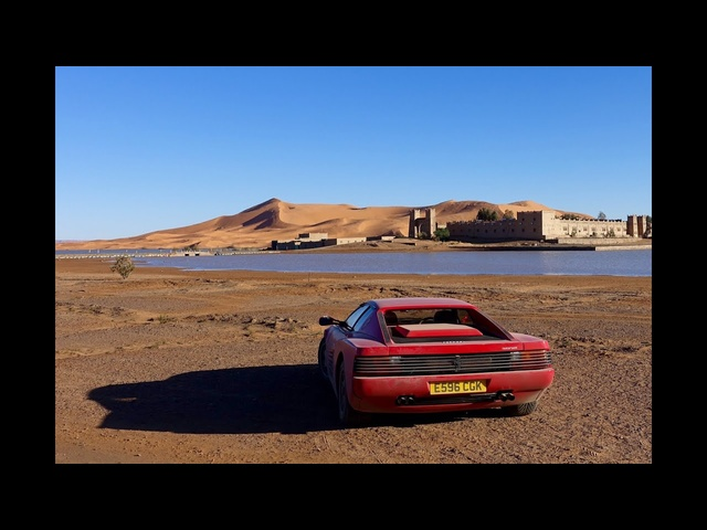 <em>Ferrari</em> Testarossa to the Sahara. 2000mile adventure to the Sahara desert