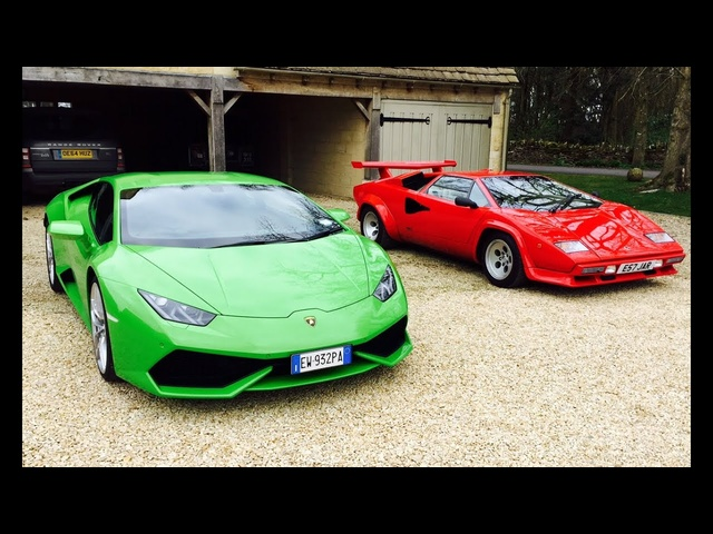 Harry's garage <em>Lamborghini</em> Huracan review alongside Countach