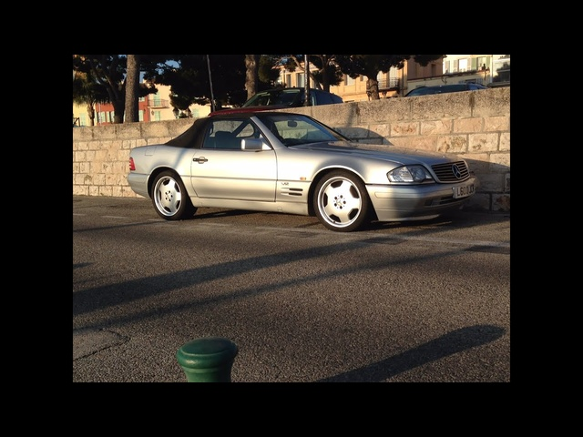 <em>Mercedes</em> Benz SL600 V12 drive and review (R129)