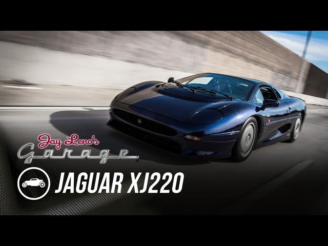 1993 Jaguar XJ220 -Jay Leno's Garage