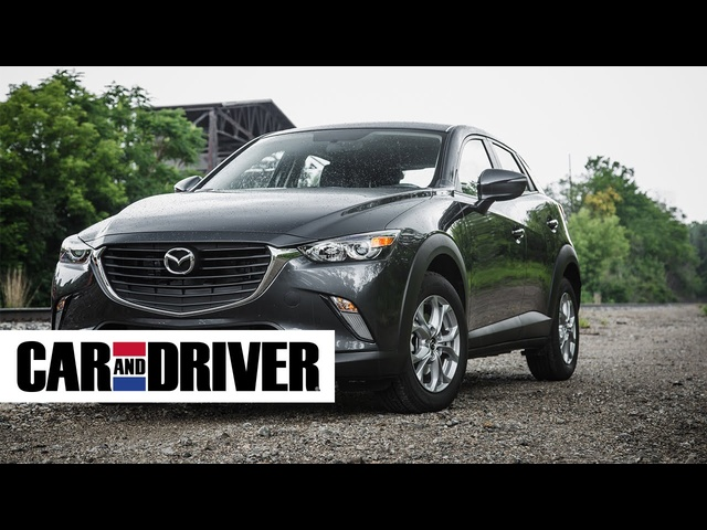 <em>Mazda</em> CX-3 Review in 60 Seconds | Car and Driver