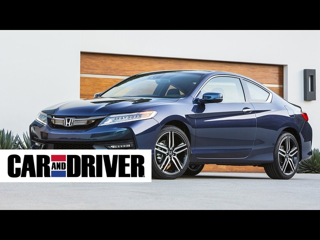 Honda Accord Coupe V-6 Review in 60 Seconds | Car and Driver