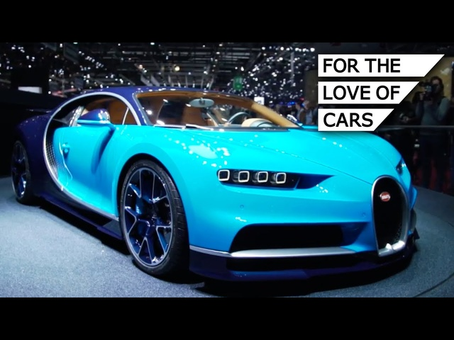 Bugatti Chiron: The Fastest Production Car In The World (with lots of engine NOISE) - Carfection