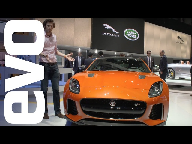 Jaguar F-Type SVR preview | evo MOTOR SHOWS