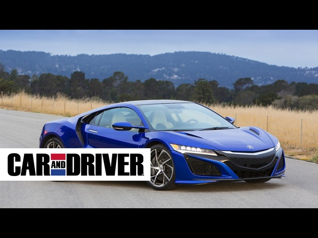 <em>Acura</em> NSX Review in 60 Seconds | Car and Driver