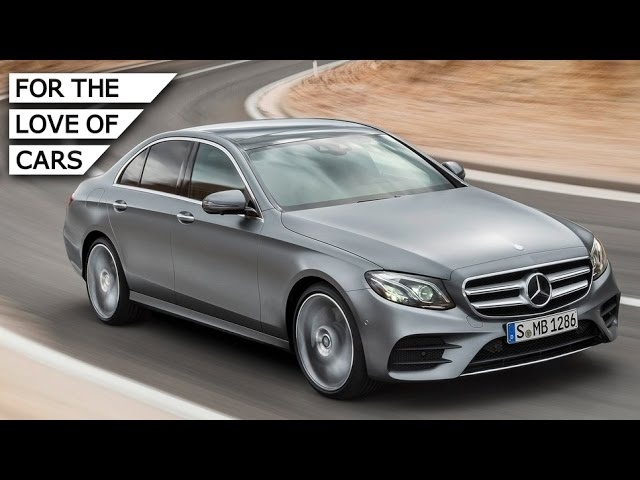 All-New <em>Mercedes</em>-Benz E-Class: Quiet Tech Express - Carfection