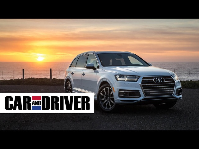 <em>Audi</em> Q7 Review in 60 Seconds | Car and Driver