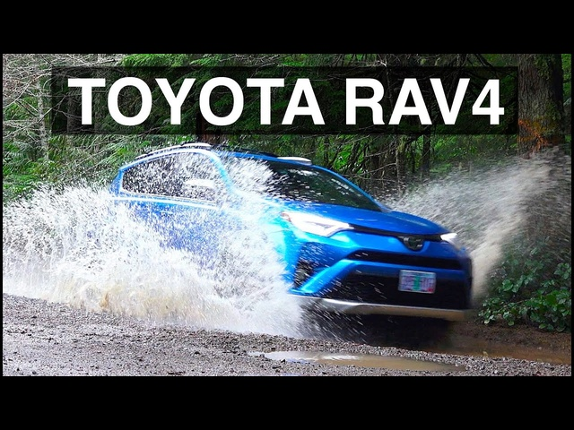 2016 <em>Toyota</em> Rav4 AWD - Review & Offroad Test Drive