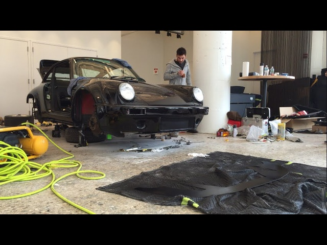 Nakai-San Creates a Rauh-Welt <em>Porsche</em> 911 LIVE at TheDrive.com Studio -- Part 5