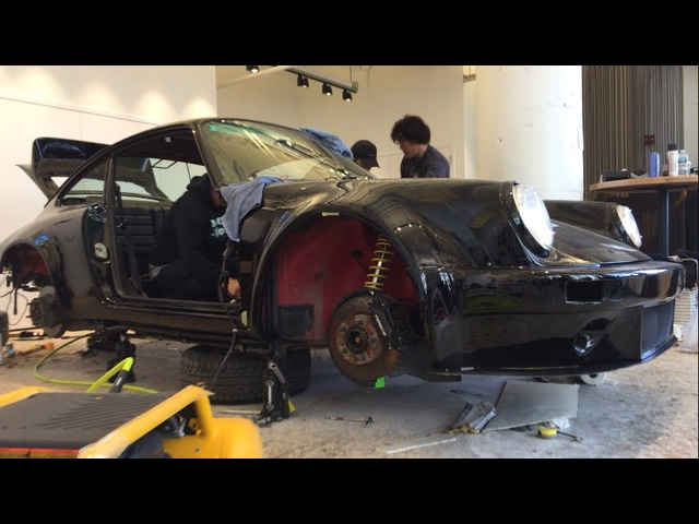 Nakai-San Creates a Rauh-Welt <em>Porsche</em> 911 LIVE at TheDrive.com Studio -- Part 4