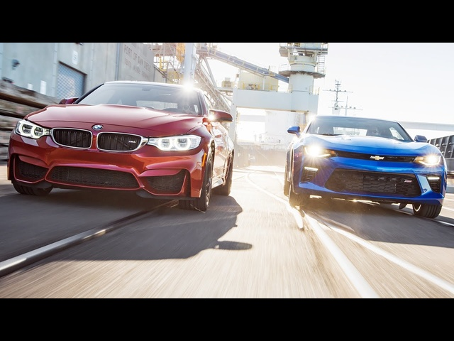 2015 <em>BMW</em> M4 vs. 2016 Chevrolet Camaro SS - Head 2 Head Ep. 74