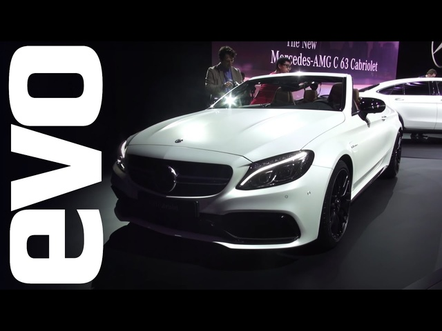 Mercedes-AMG C 63 Cabriolet and more | evo MOTOR SHOWS