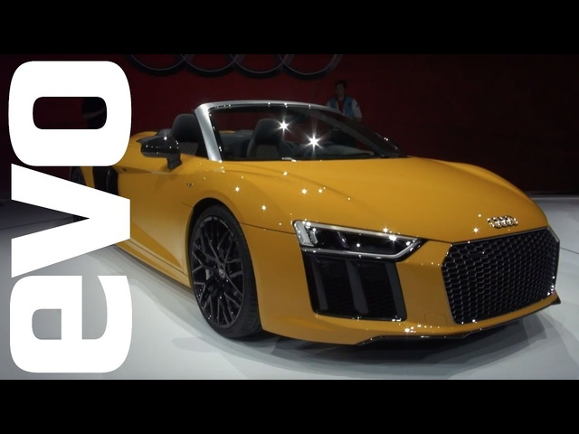 <em>Audi</em> R8 Spyder preview - open-top V10 explored | evo MOTOR SHOWS