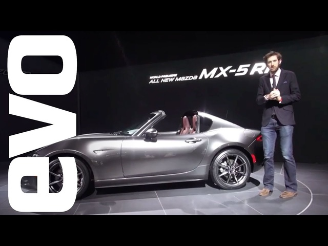 Mazda MX-5 RF preview - new hard-top sports car explored | evo MOTOR SHOWS