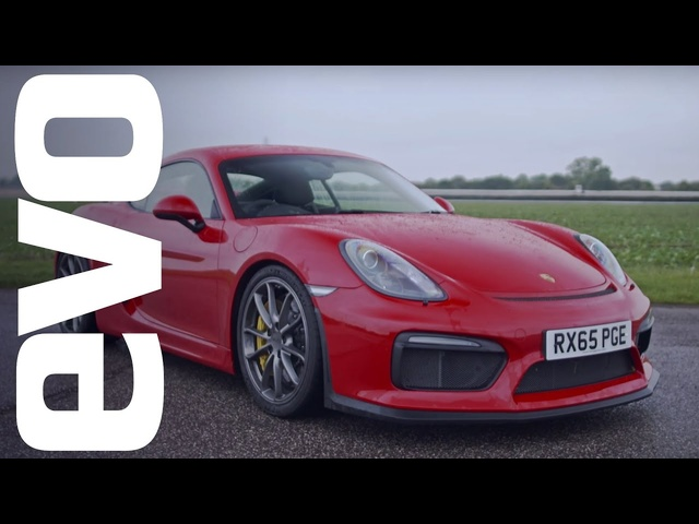 <em>Porsche</em> Cayman GT4 onboard | evo Track Car of the Year