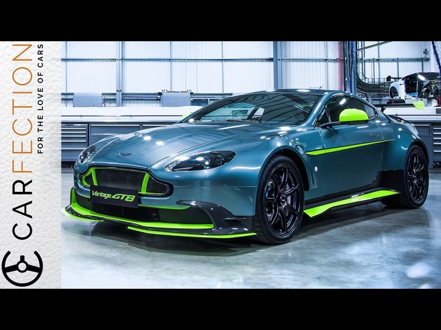 Aston Martin Vantage GT8: Looks to Kill, Noise to Thrill - Carfection