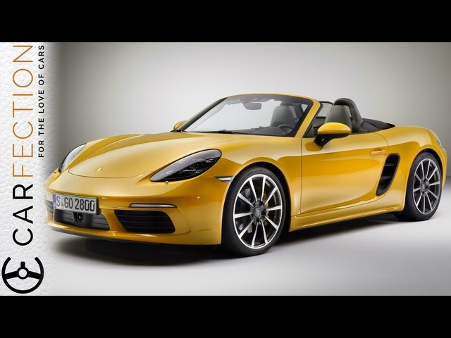 <em>Porsche</em> 718 Boxster S: New Name, Still Awesome - Carfection