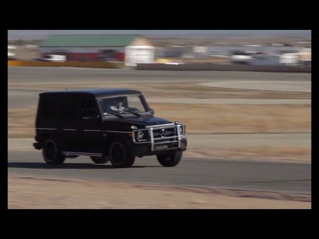 <em>Mercedes</em>-Benz G63 AMG On Track: Can It Even? -- /DRIVEN