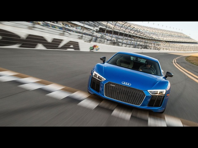 180 mph In An <em>Audi</em> R8 Plus At Daytona -- /DRIVE MOMENTS
