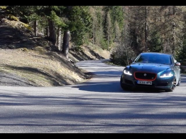 2016 Jaguar 550bhp XJR real world review