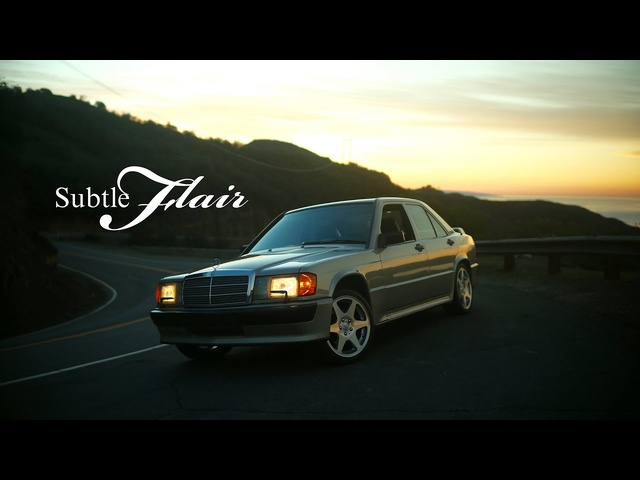 This <em>Mercedes</em>-Benz 190E 2.3-16 Has A Subtle Flair
