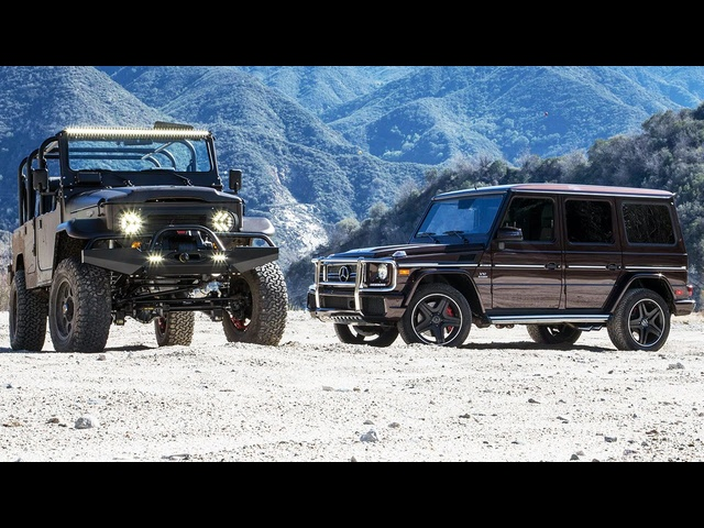 2016 Mercedes-AMG G65 vs. 1973 Icon FJ44 - Head 2 Head Ep. 75