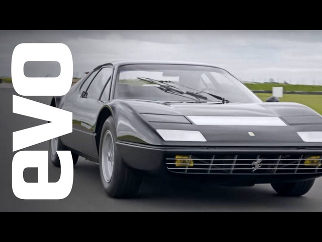 Ferrari 365 GT4 BB driven | evo ICONS