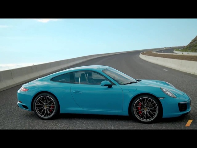<em>Porsche</em> 911 991.2 Up Volcano Mountain -- /DRIVEN