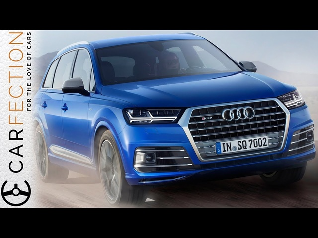 <em>Audi</em> SQ7: V8 Diesel Torque Monster - Carfection