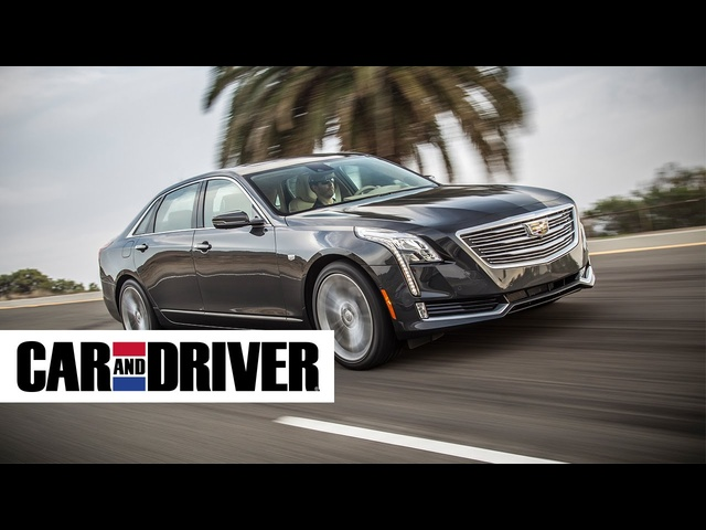 <em>Cadillac</em> CT6 Review in 60 Seconds | Car and Driver