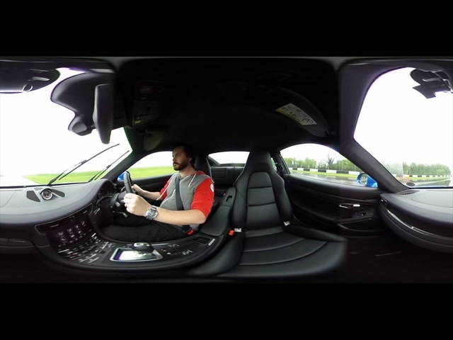 360º VR <em>Porsche</em> 911 Turbo S: Outside, Inside and Hot Lap - Carfection