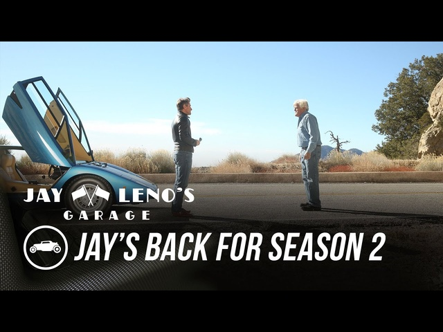 Jay's Back for Season 2 on CNBC - Jay Leno's Garage