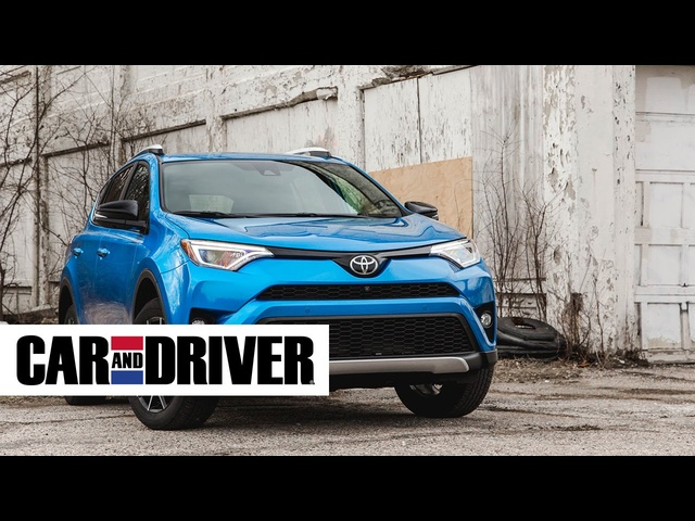 Toyota RAV4 SE Review in 60 Seconds | Car and Driver