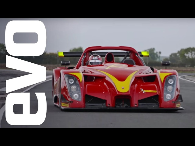 Radical RXC Spyder onboard | evo Track Car of the Year