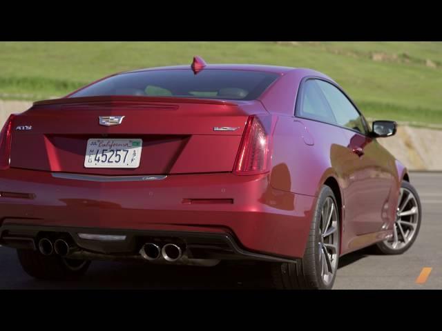 Cadillac ATS-V -- TEST/DRIVE