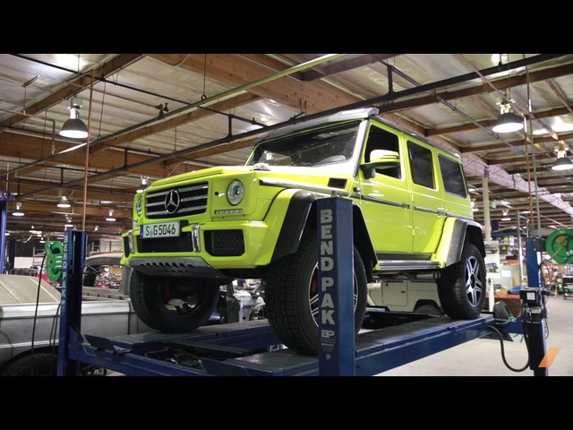 What's Underneath The <em>Mercedes</em> G500 4x4 Squared?