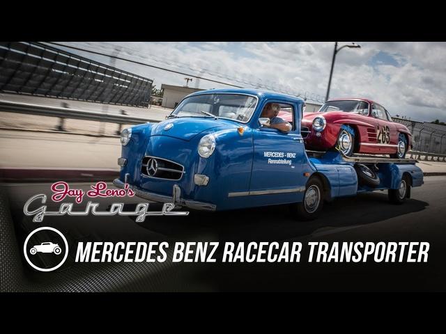 1950 Mercedes Benz Racecar Transporter -Jay Leno's Garage