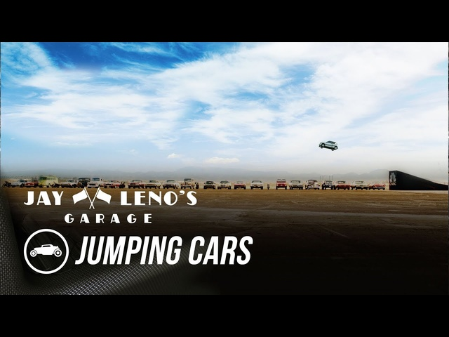 Jay Leno Jumped How Many Cars? - Jay Leno's Garage