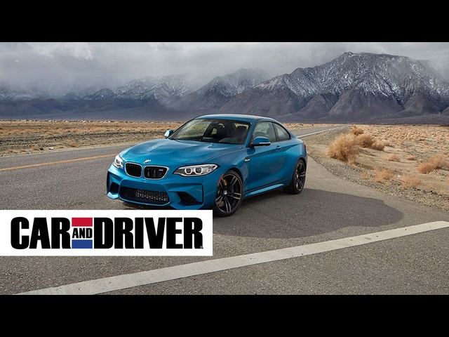 <em>BMW</em> M2 Review in 60 Seconds | Car and Driver