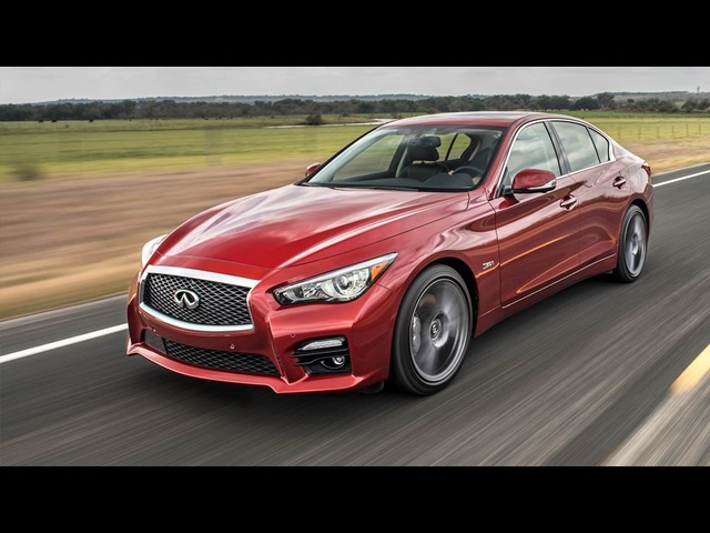 2016 Infiniti Q50 Red Sport 400: Twin Turbos, By-Wire Steering, and Good Looks! - Ignition Ep. 153
