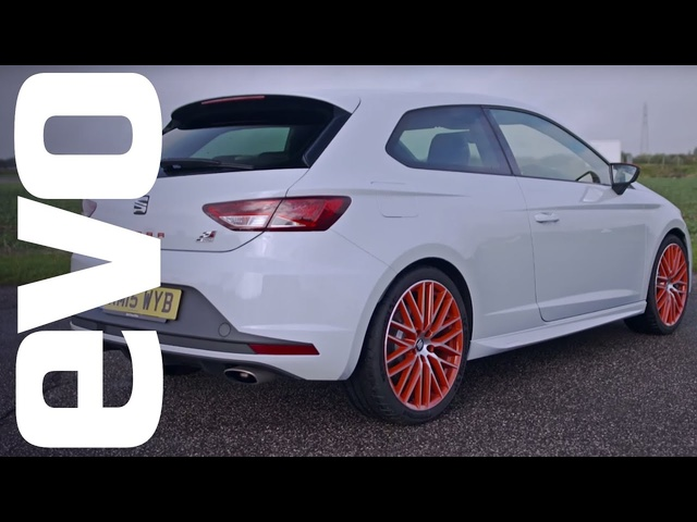 <em>Seat</em> Leon Cupra Sub 8 onboard | evo Track Car of the Year