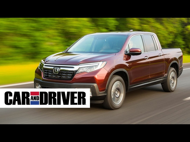 <em>Honda</em> Ridgeline Review in 60 Seconds | Car and Driver