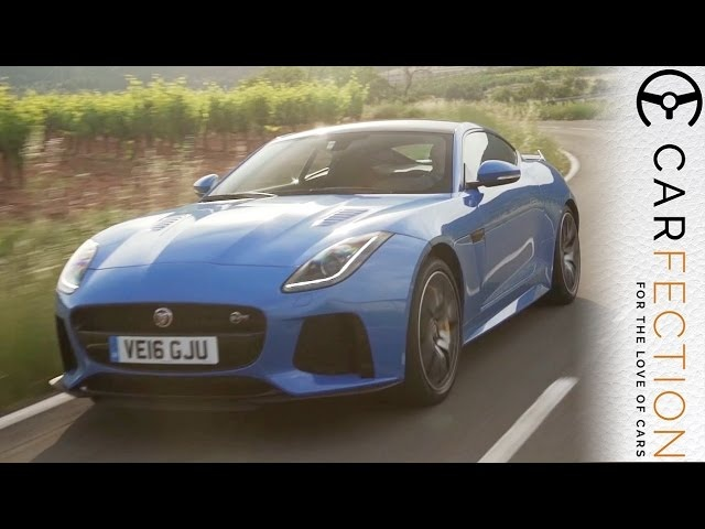 Jaguar F-Type SVR: 200mph Monster - Carfection