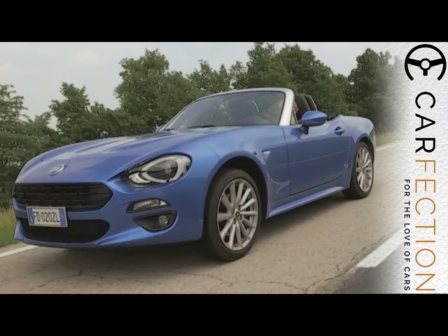 Fiat 124 Spider: Better Than A <em>Mazda</em> MX-5? - Carfection