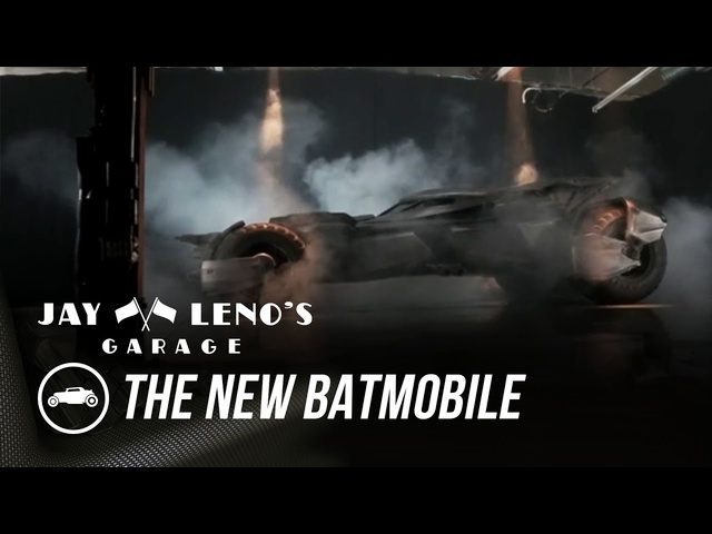Jay Leno Introduces The New Batmobile - Jay Leno's Garage
