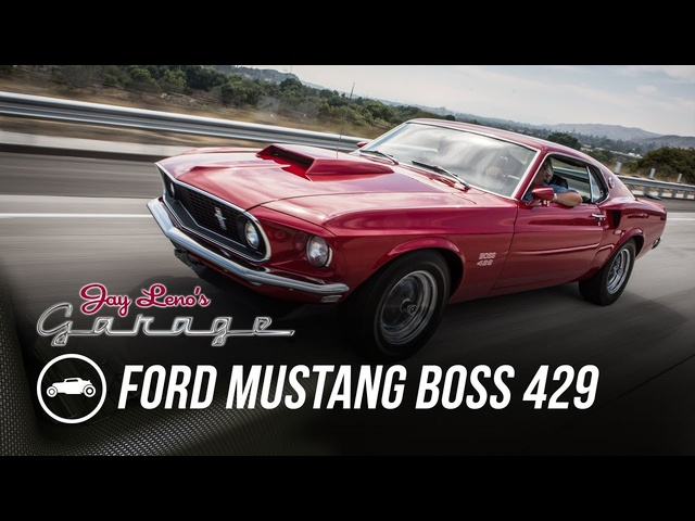 1969 Ford Mustang Boss 429 - Jay Leno's Garage