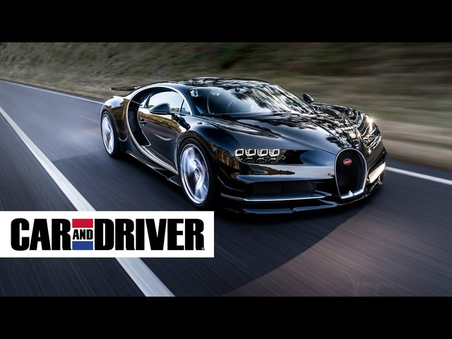 <em>Bugatti</em> Chiron Review in 60 Seconds | Car and Driver